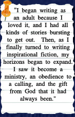 Thoughts from Christian author Kathleen Morgan